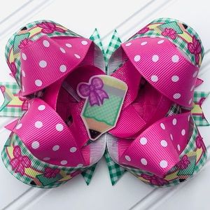 """Girls Pencil """"Back to School"""" Boutique Hairbow ✏️"""